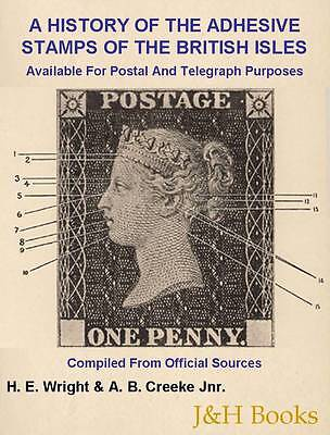 STAMPS OF THE BRITISH ISLES Wright & Creeke Penny Black-Jubilee, Telegraphs - CD