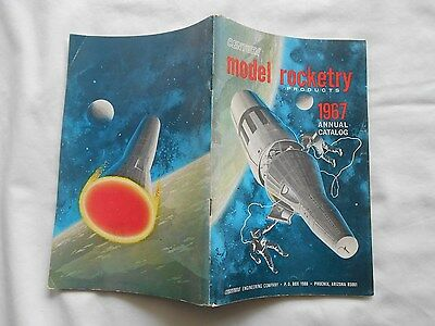 CENTURI model rocketry PRODUCTS-1967 ANNUAL CATALOG