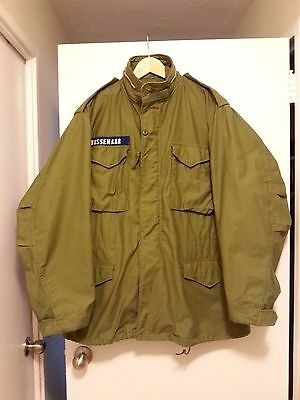 Vietnam war era M-65 jacket OG107 size Large Long dated 1970