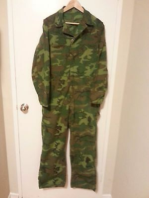 Vietnam war era ERDL coverall