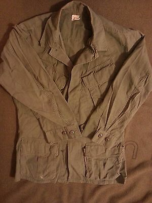 Slant pocket jungle jacket 1969 S/R embroidered Vietnam war