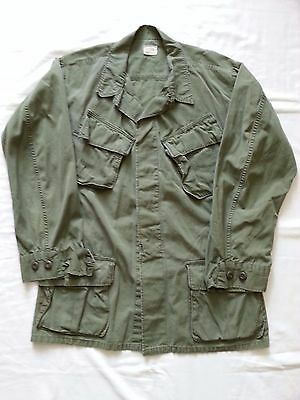 Tropical slant pocket jacket, Vietnam Era dated 1969 size M/R