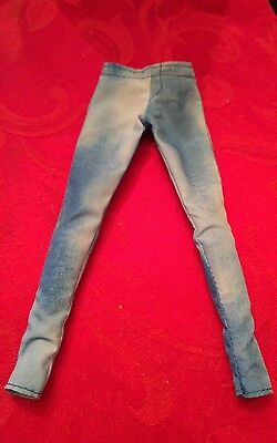 Barbie  NYLON ACID WASHED JEANS LOOK Pants for Barbie doll ,new