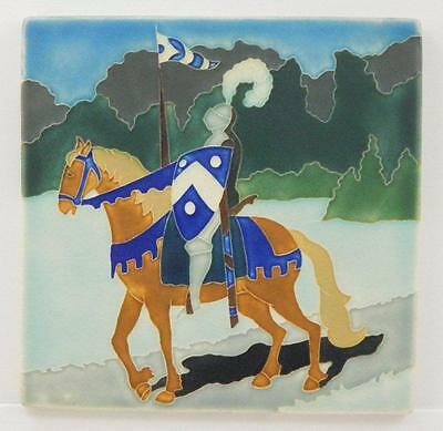 Arts and Crafts Motawi 8x8 Knight Tile