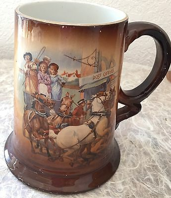 Usona  Goodwin Antique Stein/mug/tankard Rare Stagecoach Post Office