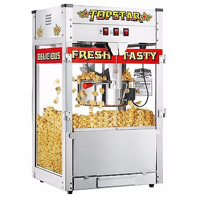 Great Northern Red 12 OZ Commercial Ounce Bar Style Popcorn Popper Machine Maker