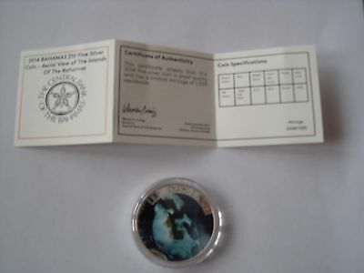LAST ONE   RARE bahamas 10 dollar silver coin 2014 sold out 0433/1000