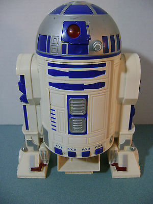 Star Wars R2-D2 Cassette Player + 4 Diff. Sounds Used 1997