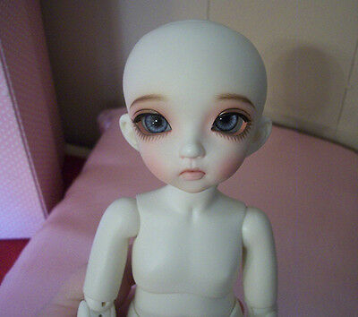Fairyland Littlefee LTF Lisa 26cm BJD White Skin Sleeping Face both with Faceups