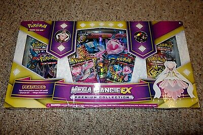 Pokemon Mega Diancie EX Premium Collection Box Brand NEW Factory Sealed