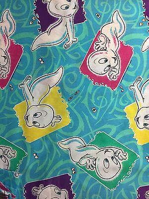 Casper The Friendly Ghost Twin Bed Sheet Set - Vintage 90s - Made In USA