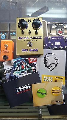 Way Huge WHE103 Safron Squeeze Compression MKII Guitar Effect Pedal - R.R.P $319