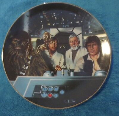 Crew In Cockpit Star Wars Hamilton Plate Collection