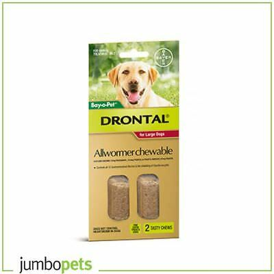 Drontal Bay-O-Pet Allwormer Chew Large 35kg