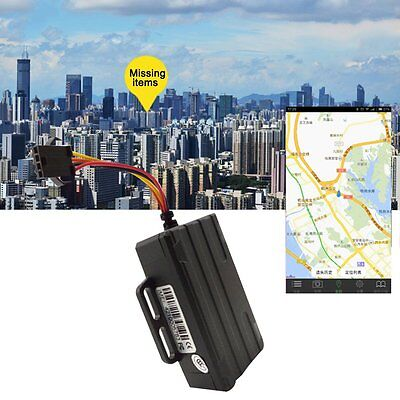 Motorcycle Vehicle Car Tracker GPS GSM GPRS Live Real Time Tracking Locator NT