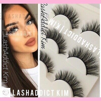 a14000192d2 GORG 3 Pairs MINK Lashes Eyelashes 3d Fur Makeup Extensions | US SELLER New