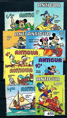 X0 Disney 456 Antigua & Barbuda SC# 562-570 Cars, Transportation MNH