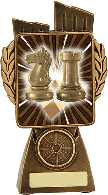 Chess Lynx Series Resin Trophy Award 150mm FREE Engraving