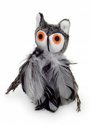 Nobby Plush Owl Toy With Catnip, 9 Cm
