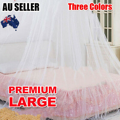 Net Canopy Bed Curtain Dome Mosquito Insect Stopping Double Single Queen
