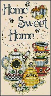 Home Sweet Home - Cross Stitch Chart - Free Postage