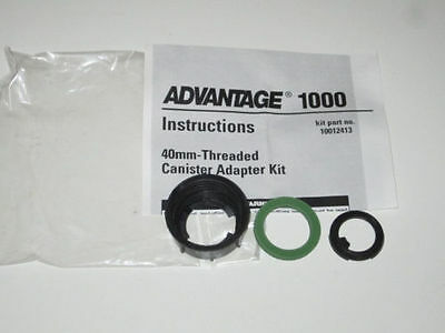 MSA Advantage 1000 gas mask NATO 40mm threaded canister adapter kit