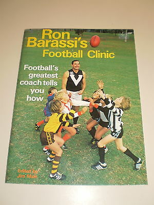 Vintage Ron Barassi's Football Clinic - Edited by Jim Main