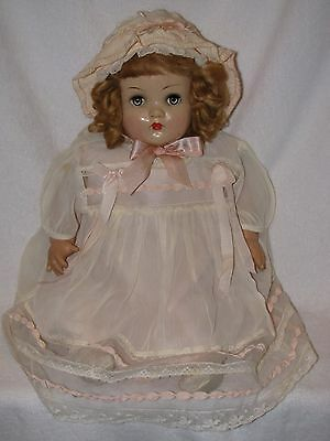 "22"" Vintage Horsman Composition Head Mama Baby Doll"