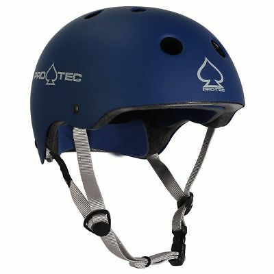 Protec Classic Bike Certified Helmet - Matte Blue - Medium