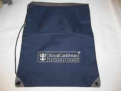 ROYAL CARIBBEAN sports gym ruck sack back pack carry soccer bag cruise line RCL
