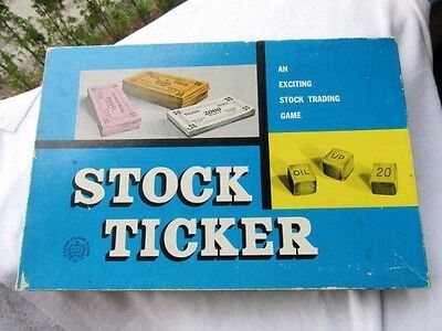 STOCK TICKER -Copp Clark E187- English & French Trading  VINTAGE COMPLETE  MINT