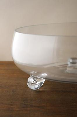 Footed Bowl Glass 13.5in