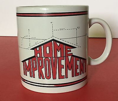 """Home Improvement Oversize Coffee Mug Cup """"You Work I'll Supervise"""" Tool Time VTG"""