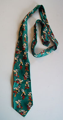 CRAVATE en soie ASTERIX silk tie