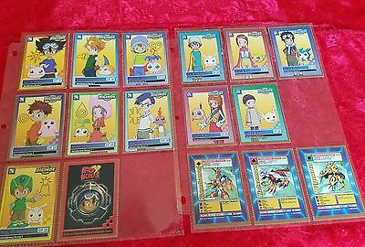 Digimon Fox Kid Magazine Promo Cards Complete Set