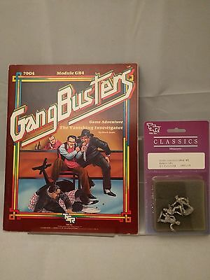 Gangbusters Module GB4 with sealed Original TSR Miniatures