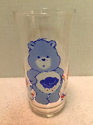 1983 Pizza Hut Care Bears Grumpy Bear Limited Edition Collectors Glass EXCELLENT