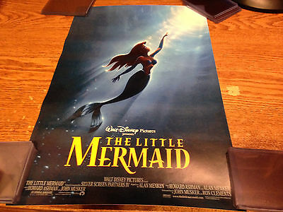 THE LITTLE MERMAID MOVIE POSTER (A) 11 x 17 INCHES / REAL PICS / WRONGWAY052