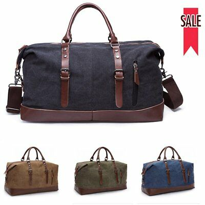 Large Capacity Canvas Travel Handbag Outdoor Durable Luggage Overnight Bags Tote