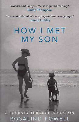How I Met My Son by Rosalind Powell BRAND NEW BOOK (Paperback 2016)