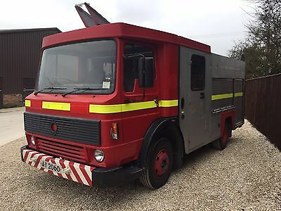 Renault-Dodge Ex Fire Engine With Low Milage