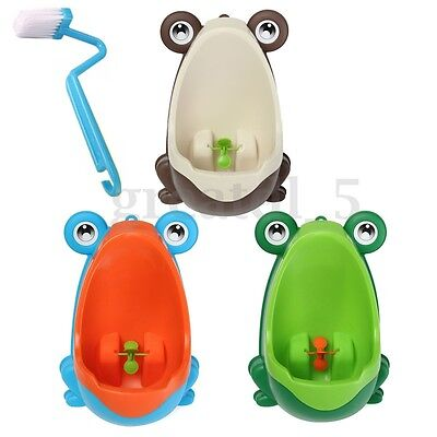 Cute Frog Baby Potty Toilet Training Urinal Pee Trainer for Children Boys Kids