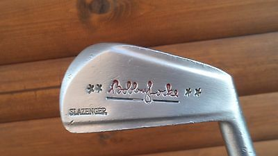"Slazenger ""Bobby Locke"" Right Handed Steel Shafted Vintage 3 Iron,Very Rare Club"