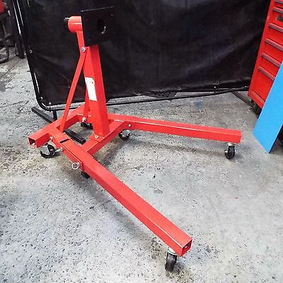 Heavy Duty 907Kg 2000Lb Workshop Swivel Head Engine Gearbox Support Lift Stand