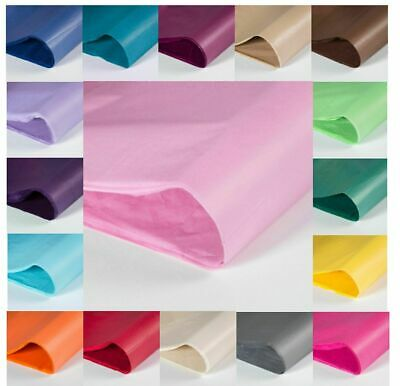 """SPECIAL OFFER Coloured Tissue Wrapping Paper. 20 x 30"""" 500 x 750mm 14gsm"""