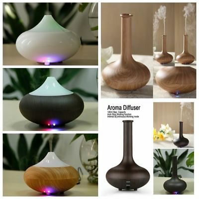 LED Aroma Diffuser Essential Oil Aromatherapy Ultrasonic Air Humidifier Purifier