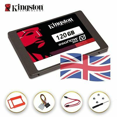 "120GB Kingston SSD Now V300 2.5"" 7.0mm SATA 3/III Solid State Drive SSD 6Gbps"