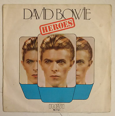 "David Bowie Heroes  Single 7"" España 1977"