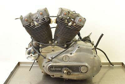 1980 Harley Sportster XLH1000 Ironhead COMPLETE  RUNNING Engine Motor  24527-75B