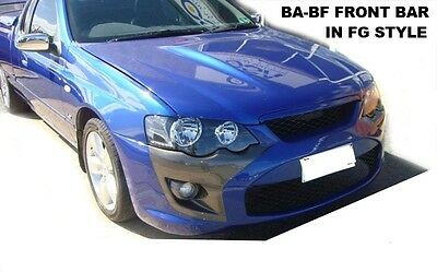 Ford Falcon Au Fg Gt Style Front Bumper Bar To Suit Xr Headlights